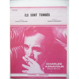 ILS SONT TOMBES CHARLES AZNAVOUR