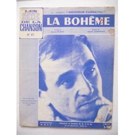 LA BOHÊME Charles Aznavour
