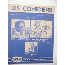 Les COMEDIENS   Aznavour, les compagnons de la chanson