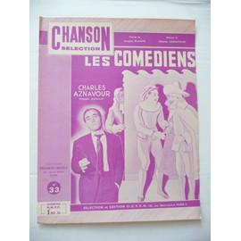 LES COMEDIENS Aznavour