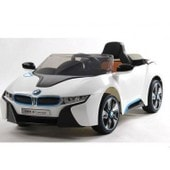 Voiture �lectrique Sous Licence Bmw I8 - 35w - 6v - 7ah - Blanc - F Style Electric - Vo33e168
