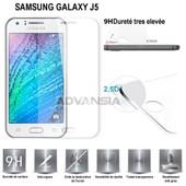 Vitre Protection D'ecran En Verre Tremp� Incassable Tempered Glass - Samsung Galaxy J5