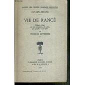 Vie De Rance - Tome 2 de CHATEAUBRIAND