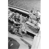 Ww2 - Scaphandrier De La Royal Navy Au Pont Tournant � Cherbourg