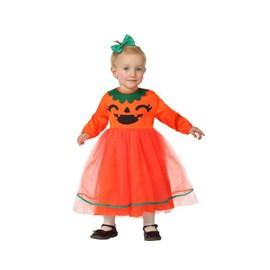 D�guisement Robe Citrouille Halloween B�b� Fille - 6-12 Mois