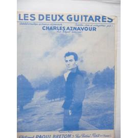 LES DEUX GUITARES Charles Aznavour