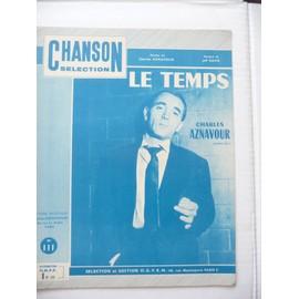 LE TEMPS Charles Aznavour , Jeff Davis