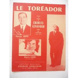 LE TOREADOR Charles Aznavour Gloria Lasso Georges Jouvin