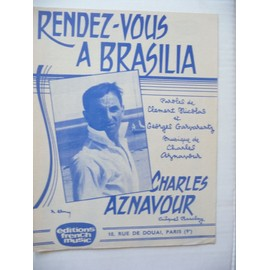 RENDEZ-VOUS A BRASILIA Charles Aznavour