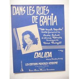DANS LES RUES DE BAHIA (Too much tequila) DALIDA