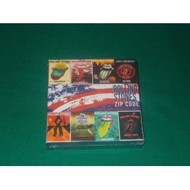 rolling stones - zip code tour of north america 2015 part: 1 - box 14 cd + dvd - 400 exp - zcr-06