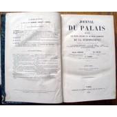 Journal Du Palais Recueil Le Plus Ancien Et Le Plus Complet De La Jurisprudence.Ann�e 1858. de GUENOT-GELLE-FABRE