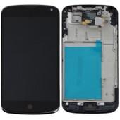 Ecran Dalle Lcd Vitre Tactile Ch�ssis Assembl�s Noir Lg Google Nexus 4 E960