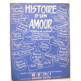 HISTOIRE D'UN AMOUR Dalida, Pétula Clark ,Gloria Lasso