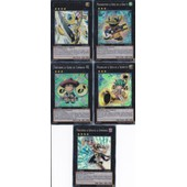 5 Cartes Yu-Gi-Oh - 1 Ultra + 4 Super Rare