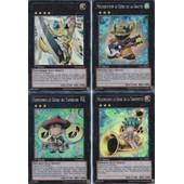 4 Cartes Yu-Gi-Oh - 1 Ultra Rare + 3 Super Rare