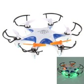 Drone Quadricopt�re 4-Canaux 2.4ghz 6 Axes Gyro M803r 360� 3d Led Bleu
