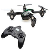 Drone Quadricopt�re 4-Canaux 6 Axes 2.4ghz Gyro H108c + Cam�ra (0.2mp) Vert