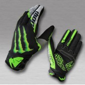 Gants Thor Monster Energy Pro Circuit Mx Moto Cross Quad Pit Dirt Bike Vtt Enduro M/L/Xl