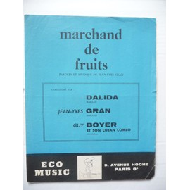 MARCHAND DE FRUITS Dalida