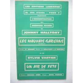 LES MAUVAIS GARCONS & UN AIR DE FETE JOHNNY HALLYDAY SYLVIE VARTAN