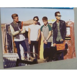 poster a4 the vamps