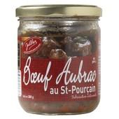 Boeuf Aubrac Au Vin De Saint-Pour�ain Rouge, Bocal 380 Gr