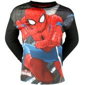 Spiderman T-Shirt Manches Longues Gar�on