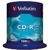 Verbatim DataLife - 100 x CD-R 700 MB ( 80 minutos ) 48x