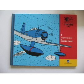Collection En Avion Tintin N� 4 - L'hydravion Bleu De Coke En Stock