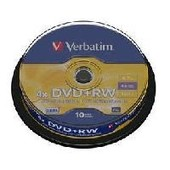 Dvd reinscriptible vierge verbatim dvd rw support amovible