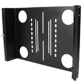 StarTech.com Universal Swivel VESA LCD Monitor Mounting Bracket for 19in Rack or Cabinet - Abrazadera pour ECRAN LCD