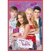 Poster Encadr�: Violetta - Group (91x61 Cm), Cadre Plastique, Rouge