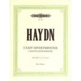 Haydn, 6 Divertimentos Faciles