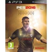 Pes 2016 - Edition 20e Anniversaire - Ps3