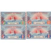 Lot De 14 Billets Loterie Nationale - Conf�d�ration Des D�bitants De Tabac