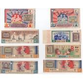 Lot De 10 Billets Loterie Nationale - Mutil�s Des Yeux