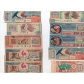 Lot De 13 Billets Loterie Nationale