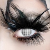 Lentilles De Contact De Couleur Fantaisie/Crazy Lens /Halloween /D�guisement Fetes/Soir�es....