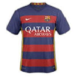 Maillots Fc Barcelone Messi 10 Saison 2015-2016 Nike Dry-Fit