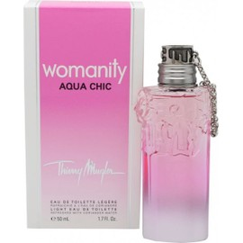 Womanity Aqua Chic Thierry Mugler Eau De Toilette L�g�re 50ml