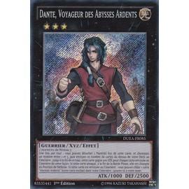 Carte Yu-Gi-Oh! Dante Voyageur Des Abysses Ardents //Secret Rare Mp15 Fr121