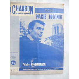 MARIE JOCONDE Alain BARRIERE
