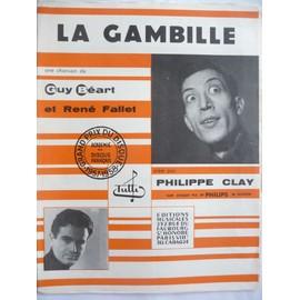 LA GAMBILLE GUY BEART PHILIPPE CLAY