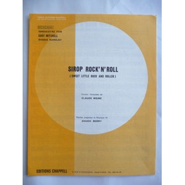 SIROP ROCK'N' ROLL EDDY MITCHELL CHUCK BERRY
