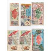Lot De 70 Billets Loterie Nationale