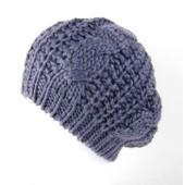Bonnet Femme Fille Fashion Mailles Tricot Torsade Crochet B�ret Chaud Chapeau Hiver Ski
