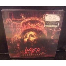 REPENTLESS(BOX)(Album pic-disc)+(CD)+(Blue ray digipack)+(CD)+(CD live)+Poster)+(Photo card)(Original)(2015)(Germany).