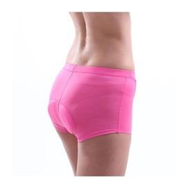 Xcellent Global Garniture De Silicone 3d Professinal Perm�abilit� De L'air �lev�e Faire Du V�lo / �questre Pantalon Court Sous-V�tements Shorts S/M / L / Xl Taille Disponible Pour Femme M-Fs015