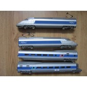 Rame Tgv Atlantique N�531 Sncf 4 Elements Ho 1/87eme